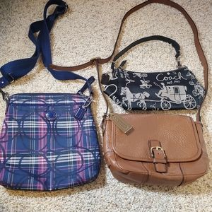 Coach Crossbody Purse Bundle